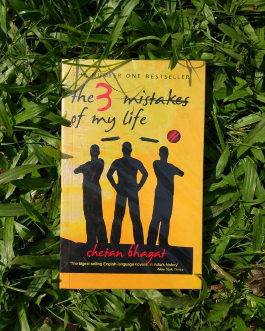 The 3 Mistakes of My Life Novel