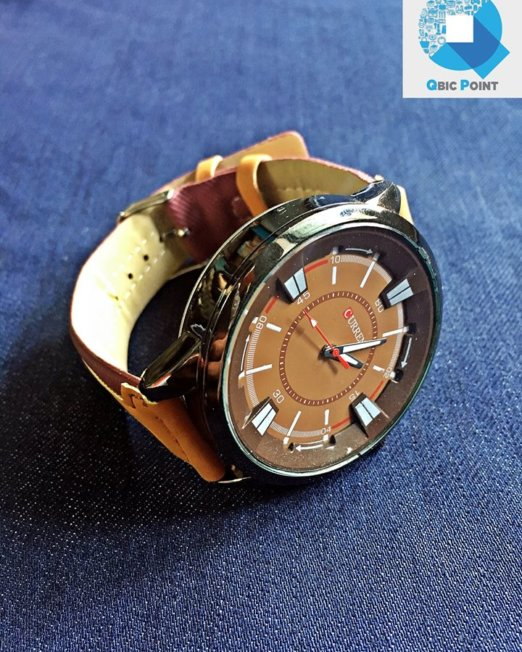 CURREN Brown Wrist Watch