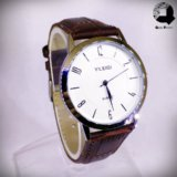 YILEIQI Dark Brown Wrist Watch