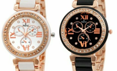Swisstyle Analogue White Dial & Black Dial Womens Watches